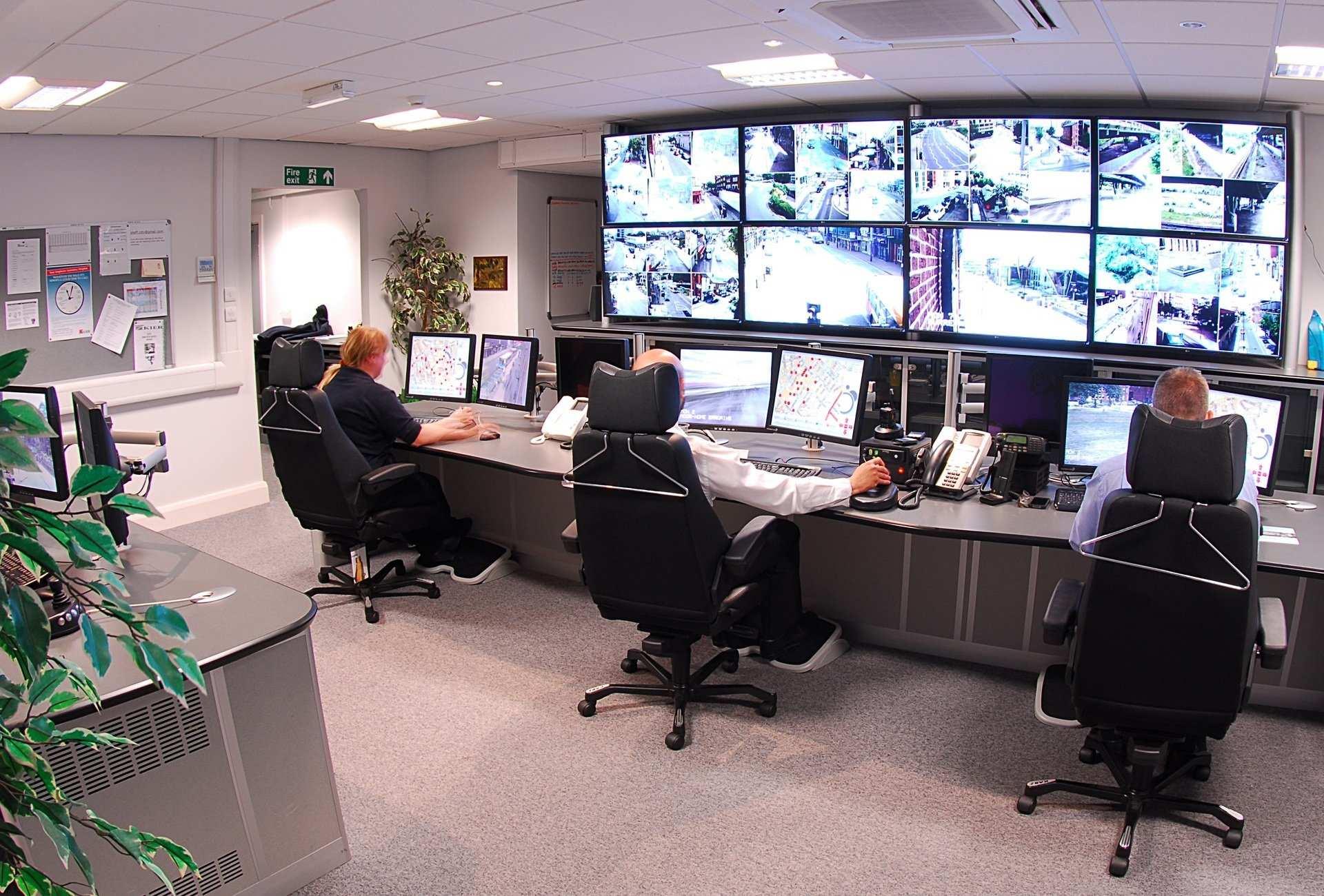 grafika systemy monitoringu centrala obsługi